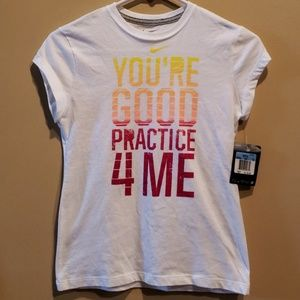 NWT Good Practice White Shirt